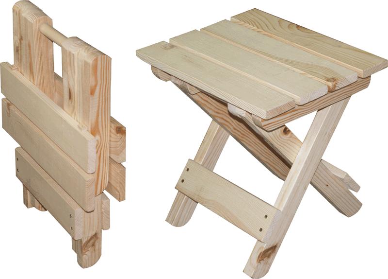 Как сделать деревянный складной стул своими руками