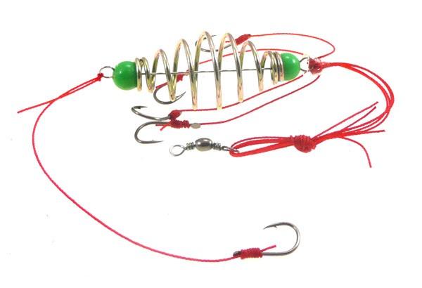 как правильно оснастить пружину-кормушку для рыбалки