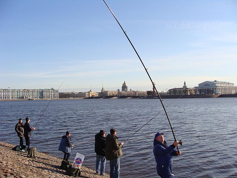 места рыбалки в петербурге