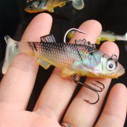Силиконовые приманки для рыбы