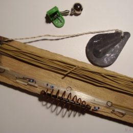 Ловим рыбу с использованием резинки