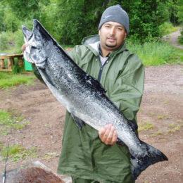 Рыбалка дикарем в Карелии