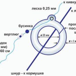 Используем кольцо в рыбалке с лодки