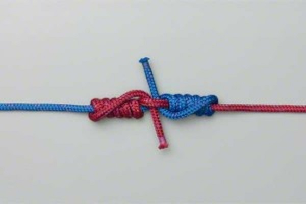 Blood knot uzel