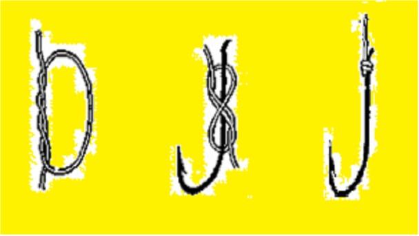 Рыболовный узел восьмерка схема