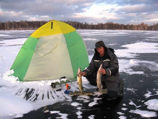 Рыбала на озере Увильды