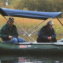 Делаем тент для надувной лодки своими руками