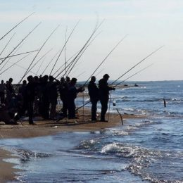 Как ловить рыбу в море с берега?