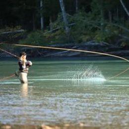 Рыбная ловля с помощью нахлыста