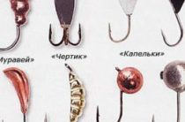 Виды вольфрамовых мормышек